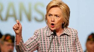 Hillary Clinton bugün konuşma yapmayacak