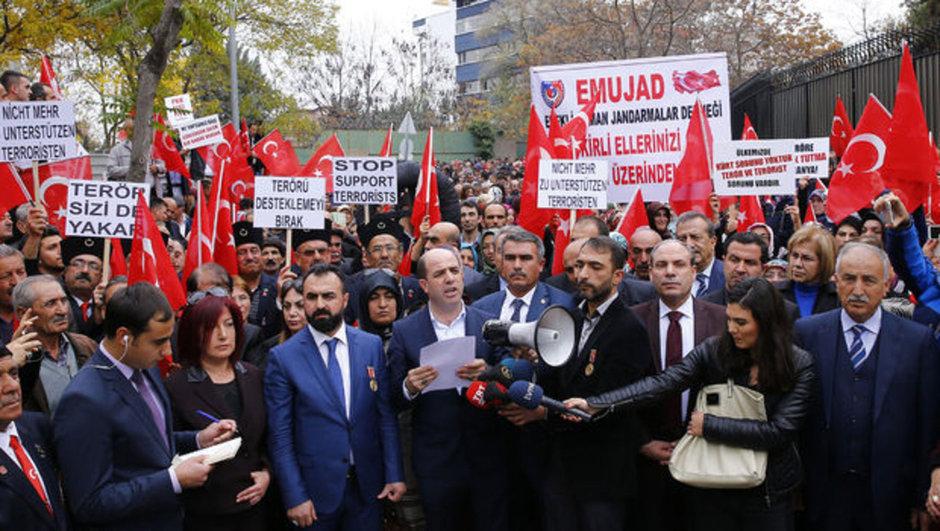 Almanya Ankara Terör Protesto