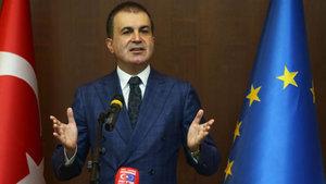 AB Bakanı Ömer Çelik'ten kritik açıklamalar