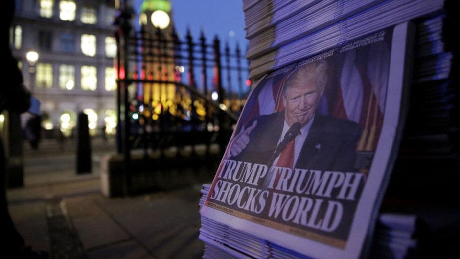 Donald Trump ABD basın