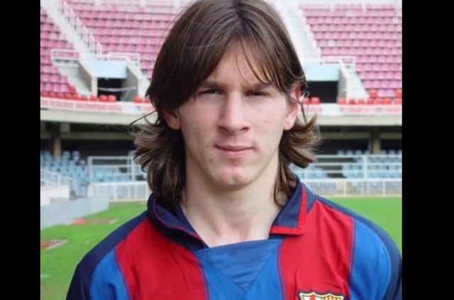 Messi'nin inanılmaz değişimi...
