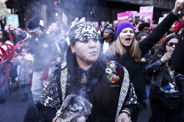 ABD halkından ülke çapında Trump karşıtı protesto