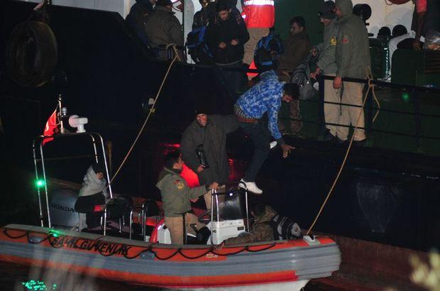 Çanakkale Boğazı'nda kaçak göçmen operasyonu