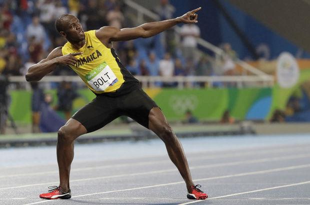 IAAF Usain Bolt Mo Farah Wayde van Niekerk