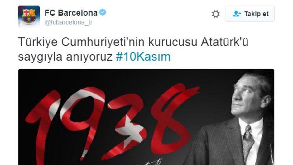 Barcelona Mustafa Kemal Atatürk