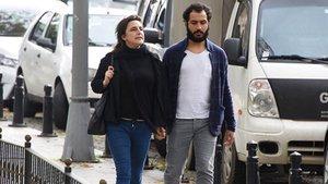 Esra Dermancıoğlu sevgilisiyle el ele yakalandı