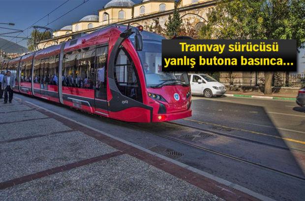 Bursa tramvay Bayramınız kutlu olsun anons