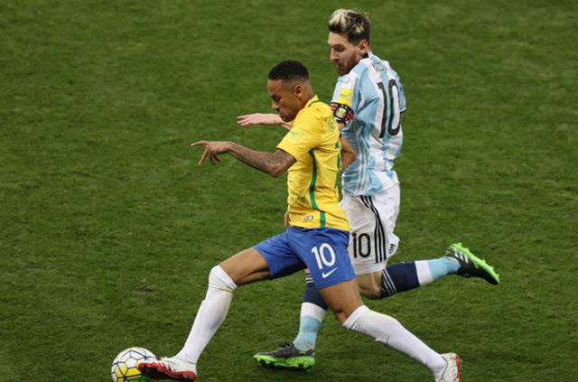 Brezilya: 3 - Arjantin: 0