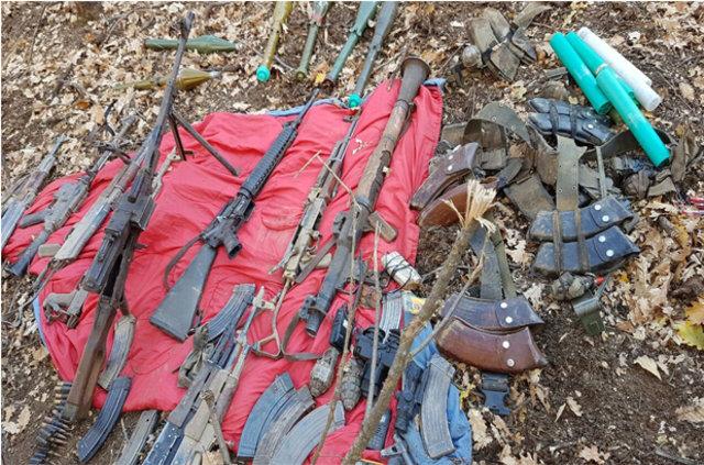 Tunceli'de 14 terörist ölü olarak ele geçirildi