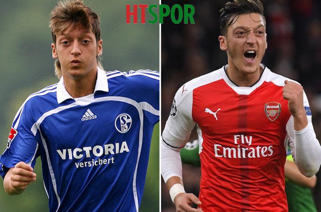 Futbolcuların zaman içerisindeki değişimi