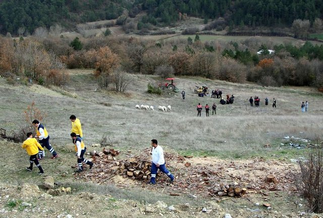 Bolu'da çiftçinin kahreden ölümü