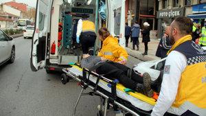 Edirne'de trafik kazası meydana geldi