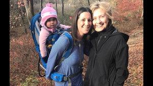 Hillary Clinton, seçim yenilgisiden sonra ilk kez görüntülendi!