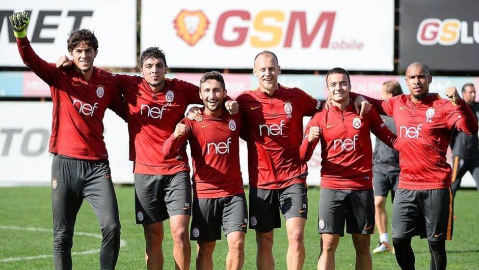 Galatasaray antrenman