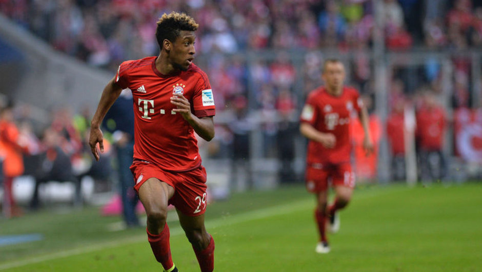Kingsley Coman Bayern Münih