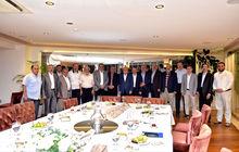 İlim Yayma Cemiyeti Yönetim Kurulu'ndan Murat Ülker'e ziyaret