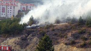 Kastamonu'da ateşle oynayan çocuklar ormanı yaktı
