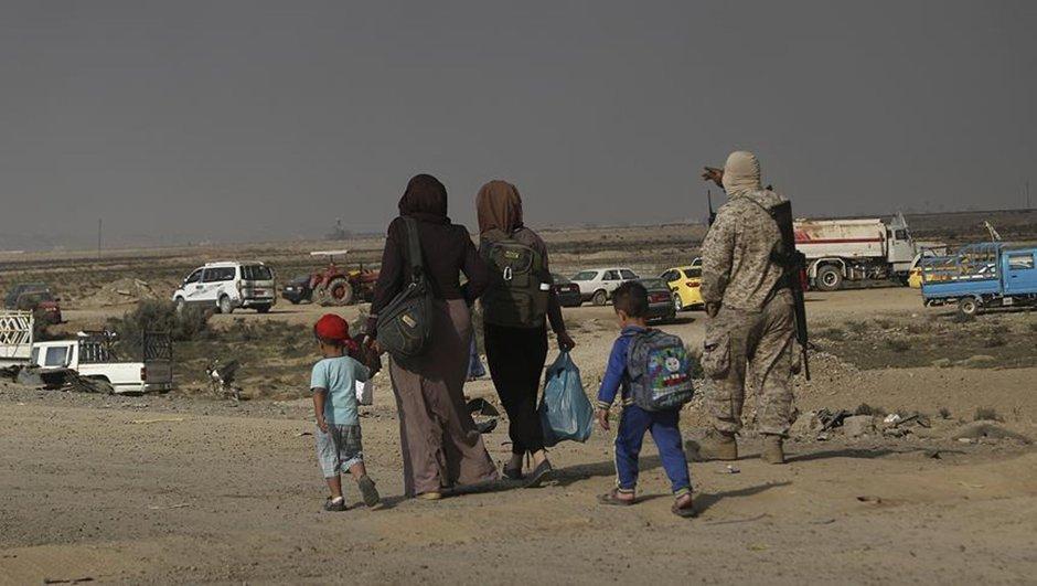 Musul operasyonu DEAŞ göç