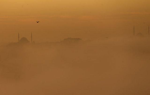 İstanbul güne sis ile başladı