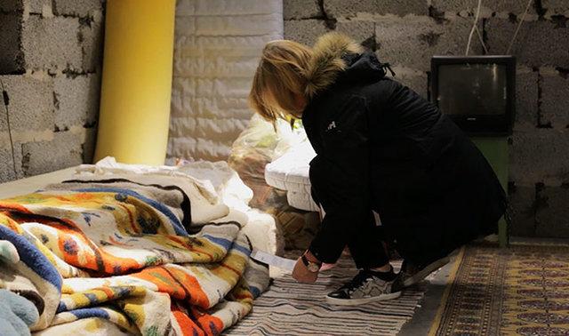 Mağaza içinde Suriye'den 25 metrekarelik bir parça