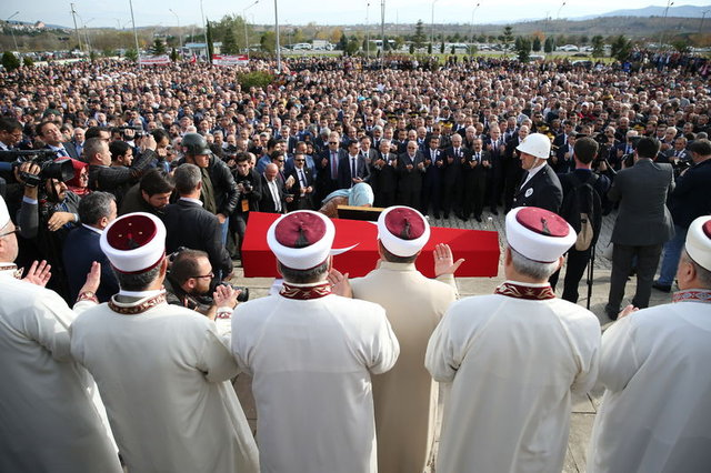 Şehit kaymakam Muhammet Fatih Safitürk son yolculuğuna uğurlandı