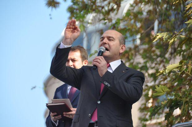 İçişleri Bakanı Süleyman Soylu HDP Büyükelçiler