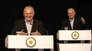Başbakan Binali Yıldırım bütün salonu güldürdü!