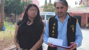 Suriyelilere fuhuş yaptırdığı iddia edilen kadın gözaltına alındı