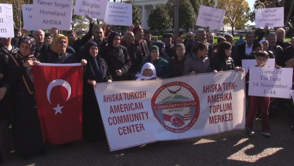 Ahıska Türkleri ABD Beyaz Saray