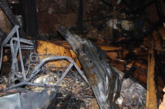 Amasya'daki yangında kızkardeşler yanarak can verdi