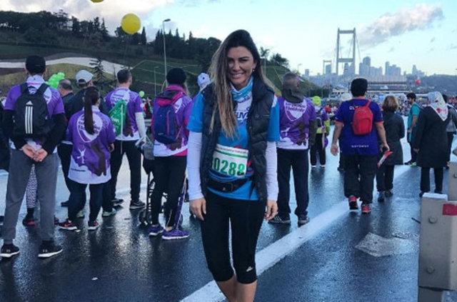 15 Temmuz şehitleri için Vodafone 38. İstanbul Maratonu