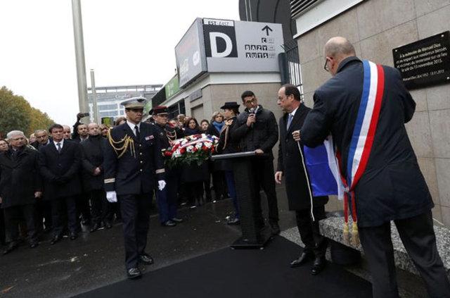 Paris saldırılarının yıldönümünde terör kurbanları anıldı