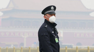 Çin'de hava kirliliği nedeniyle sarı alarm