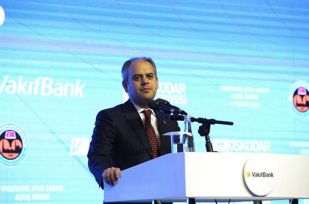 Gençlik ve Spor Bakanı Akif Çağatay Kılıç Vodafone İstanbul Maratonu