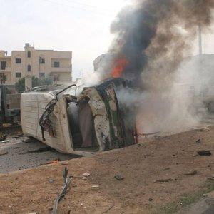 Azez'de bombalı saldırı! Ölü ve yaralılar var...