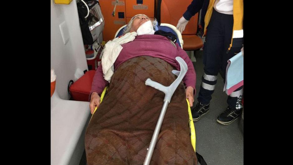 Aydın hırsız 83 yaşındaki kadın elleri kolları bağlı