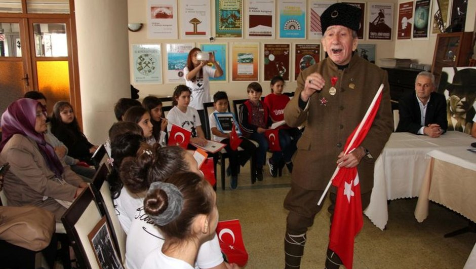 Turgut Kaçmaz dünyanın en yaşlı gazisinin oğlu