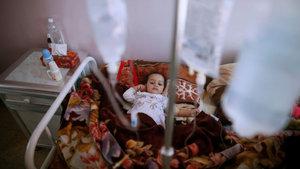 Yemen'in 11 vilayetinde kolera salgını görüldü