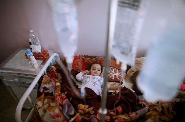 Yemen kolera salgını