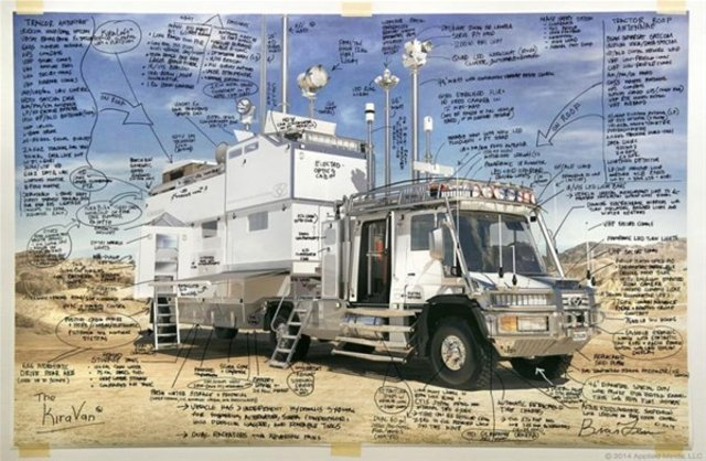 Milyarder işadamı kızı için lüks karavan yaptı