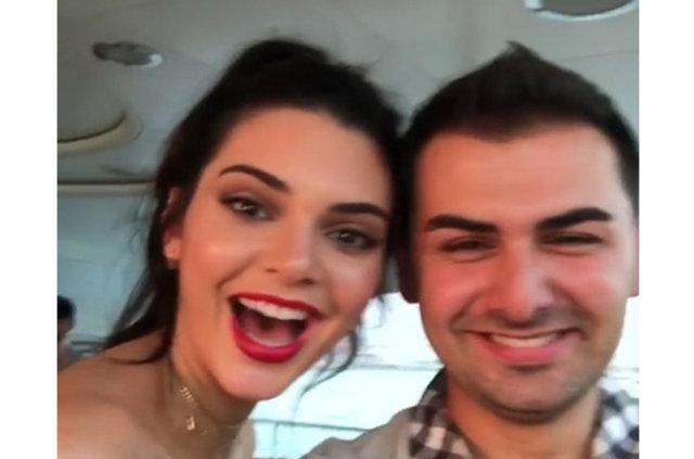 Türk işadamı Saygın Yalçın'dan Kendall Jenner'a lüks hediye