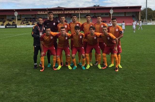 Kocaeli Birlik - Galatasaray U14 maçında olay!