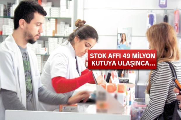 Sağlık Bakanlığı reçetesiz ilaç stok affı