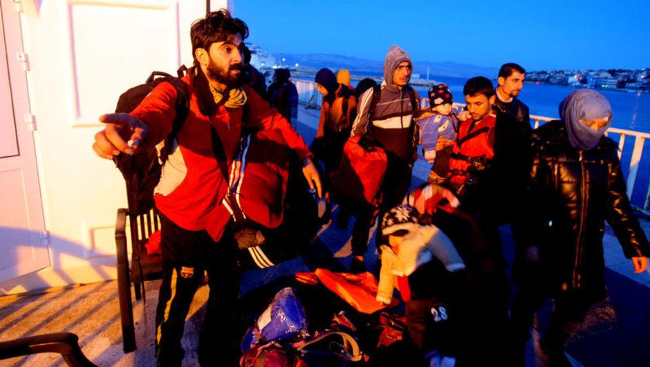 Çeşme, kaçak göçmen