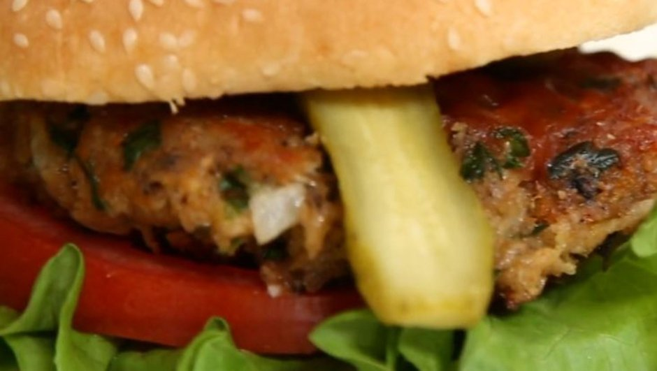 börülce köfteli hamburger tarifi