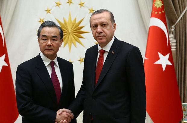 Recep Tayyip Erdoğan Wang Yi