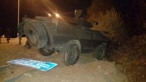 Bingöl'de zırhlı aracın geçişi sırasında patlama: 2 polis yaralı