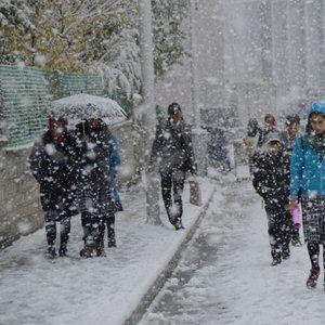 Meteoroloji'den yoğun kar ve kuvvetli yağış uyarısı!