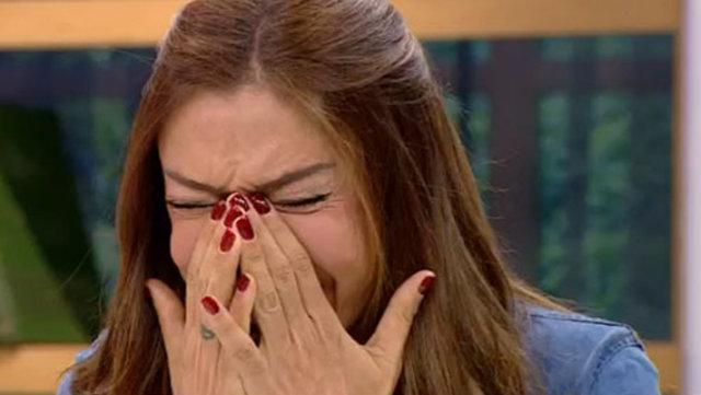 Sevda Demirel'in gözyaşları