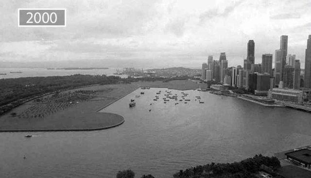 Şehirlerin eski ve günümüz fotoğrafları